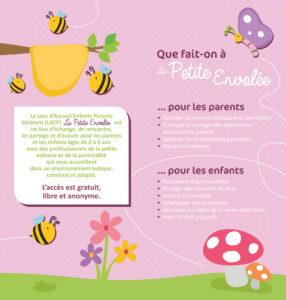 La petite envolée: Lieu d'Accueil Enfants Parents