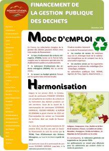 Financement de la gestion publique des déchets