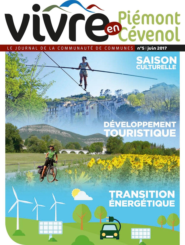 Vivre en Piémont Cévenol n°5 - juin 2017