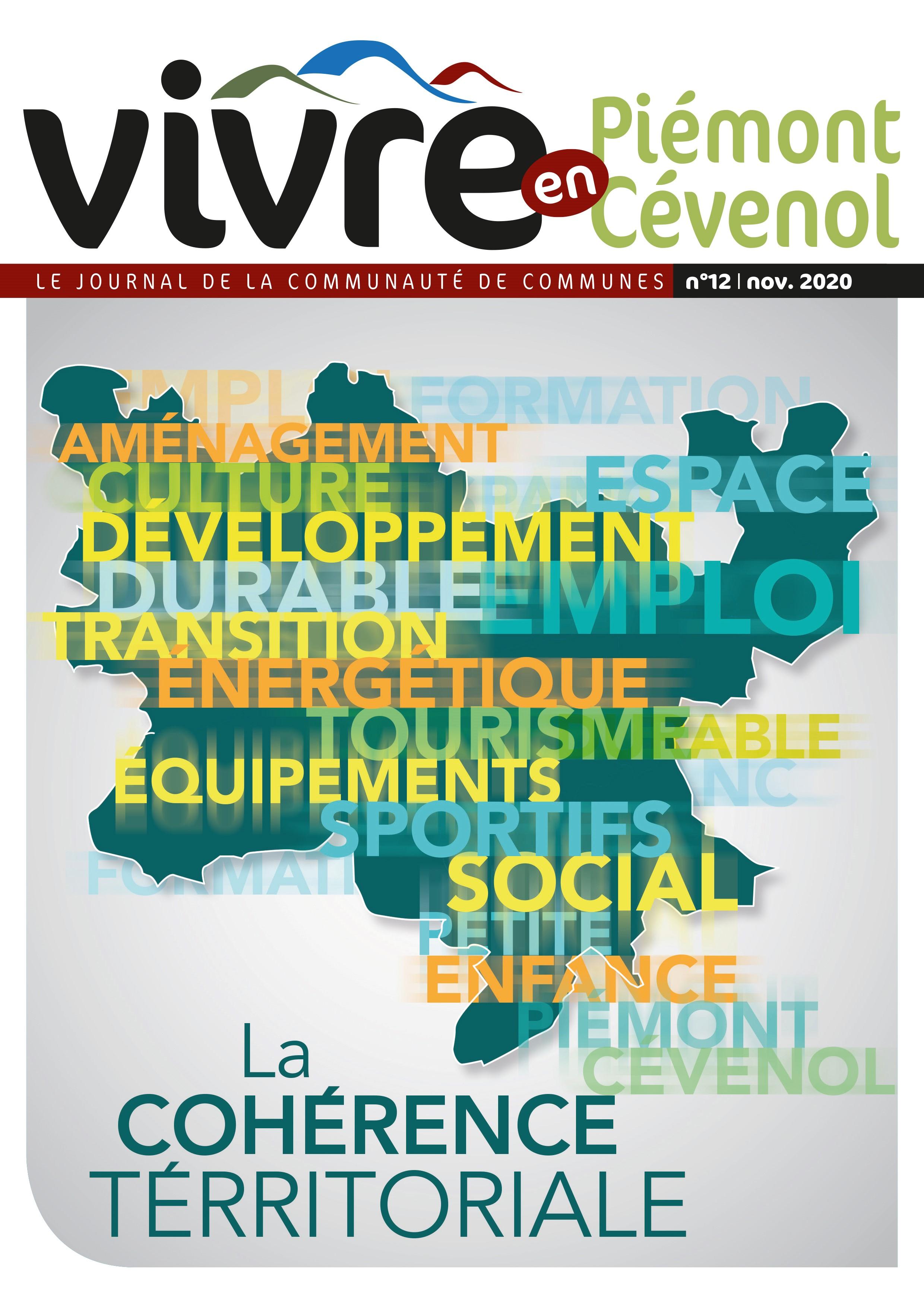 Journal Vivre en Piémont Cévenol n°12 couverture