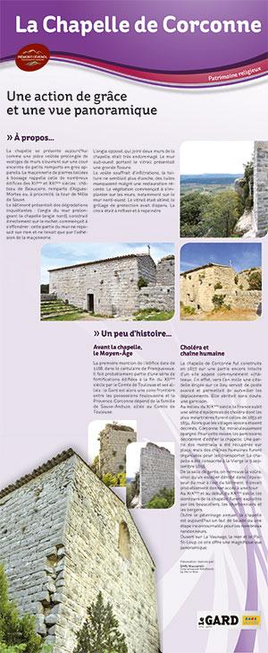 Plan patrimoine Corconne