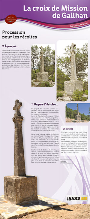 Plan patrimoine Gailhan