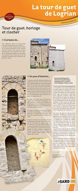 Plan patrimoine Logrian