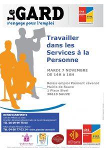 Services à la personne atelier 7 novembre