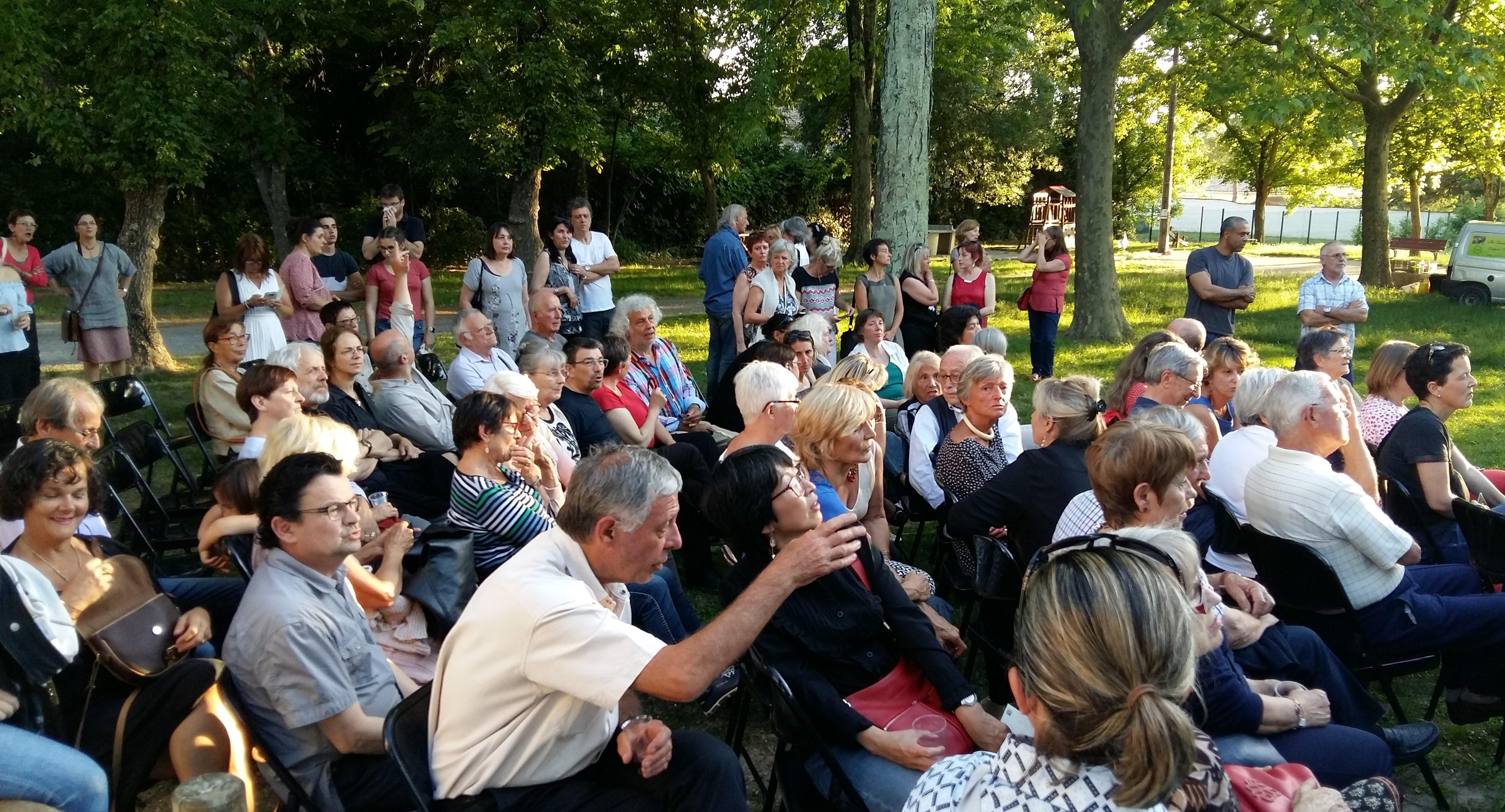 J3 Vic le fesq soirée prix lecture publique public attentif