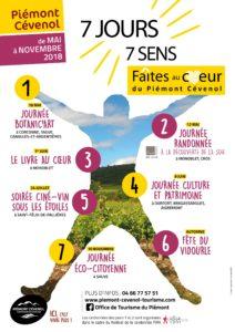 7 jours 7 sens, faîtes au cœur du Piémont Cévenol